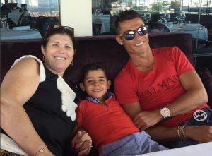 Πορτογαλία – Γαλλία: Στο Παρίσι η οικογένεια του Ρονάλντο (ΦΩΤΟ)