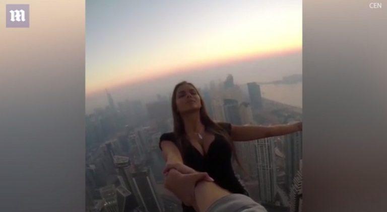 Παιχνίδια με τον θάνατο για την τέλεια selfie [vid] | Newsit.gr