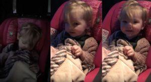 Κοιμάται του καλού καιρού αλλά μόλις ακούσει το αγαπημένο της τραγούδι, τού δίνει και καταλαβαίνει! [vid]