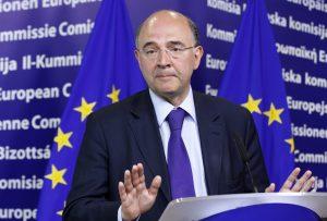 """Στο """"πλευρό"""" του Γιούνκερ ο Μοσκοβισί για τη δημιουργία Ευρωπαϊκού Νομισματικού Ταμείου"""