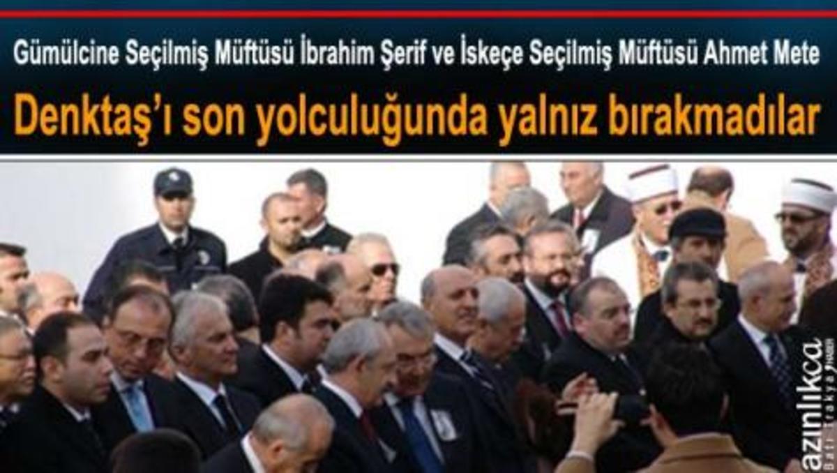 Οι «καταπιεσμένοι» ψευτομουφτήδες της Θράκης στη κηδεία του Ντεκτάς! | Newsit.gr