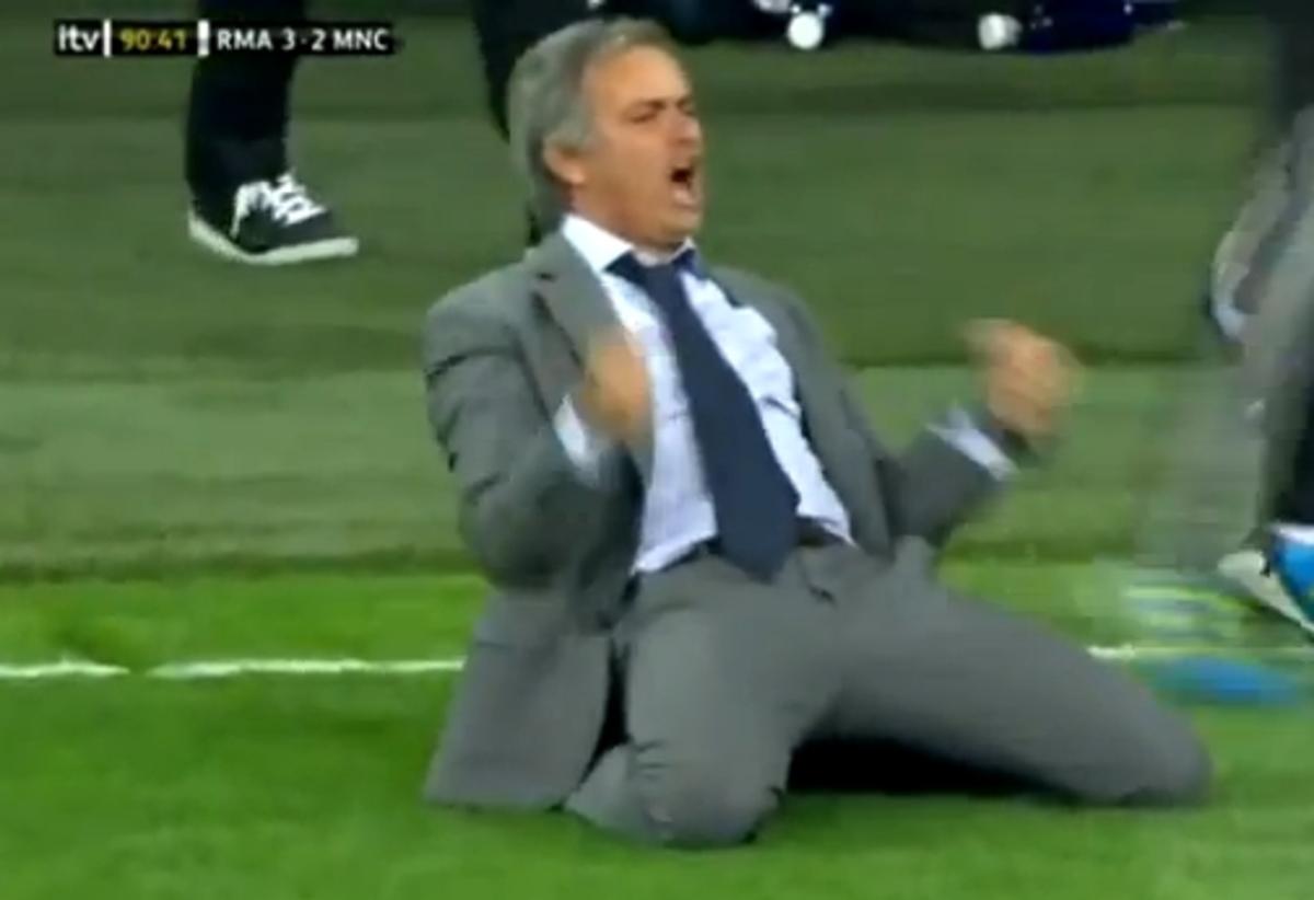 Ο εκπληκτικός πανηγυρισμός του Ζοσέ Μουρίνιο – Δείτε το VIDEO | Newsit.gr