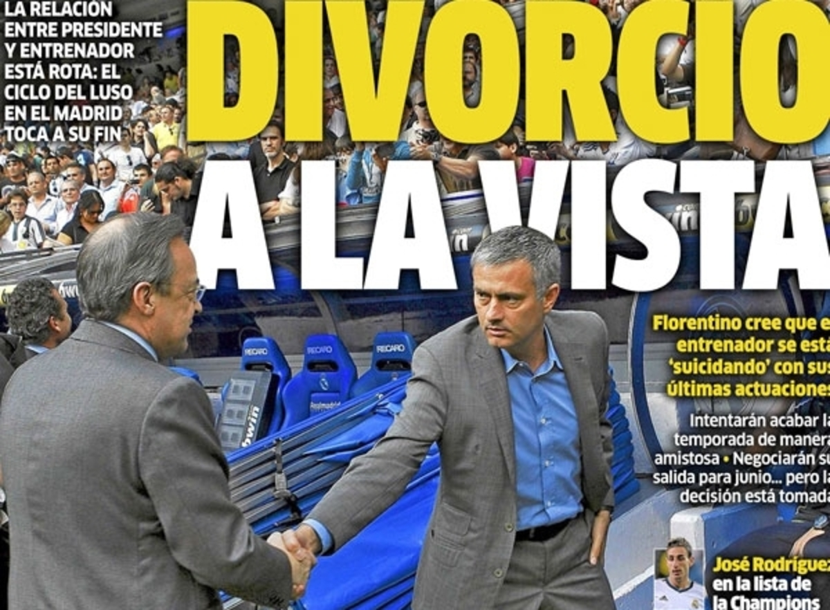 """""""Τελειώνει"""" ο Μουρίνιο από τη Ρεάλ!   Newsit.gr"""