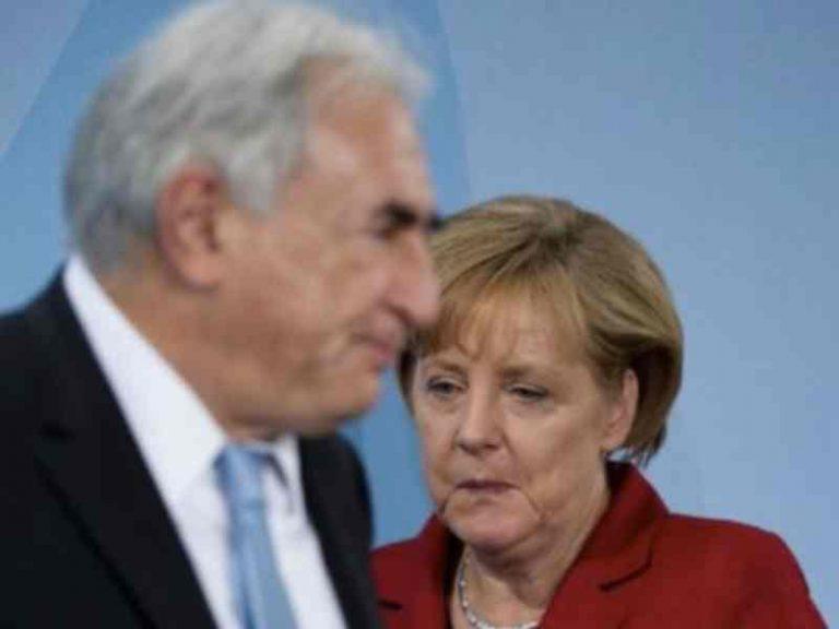 Η Μέρκελ θέλει Ευρωπαίο το διάδοχο του Στρος Καν   Newsit.gr