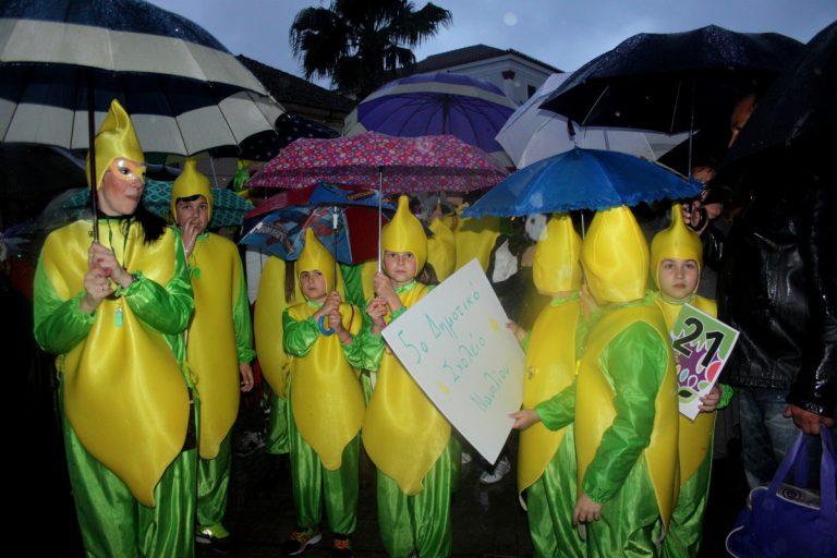 Πελοπόννησος: Η βροχή δεν πτόησε τους καρναβαλιστές – Ξέφρενο γλέντι με χορό και… ομπρέλες | Newsit.gr