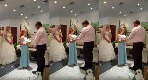 Γαμπρός βγάζει το δαχτυλίδι και κάνει πρόταση στην κόρη της νύφης! [vid]