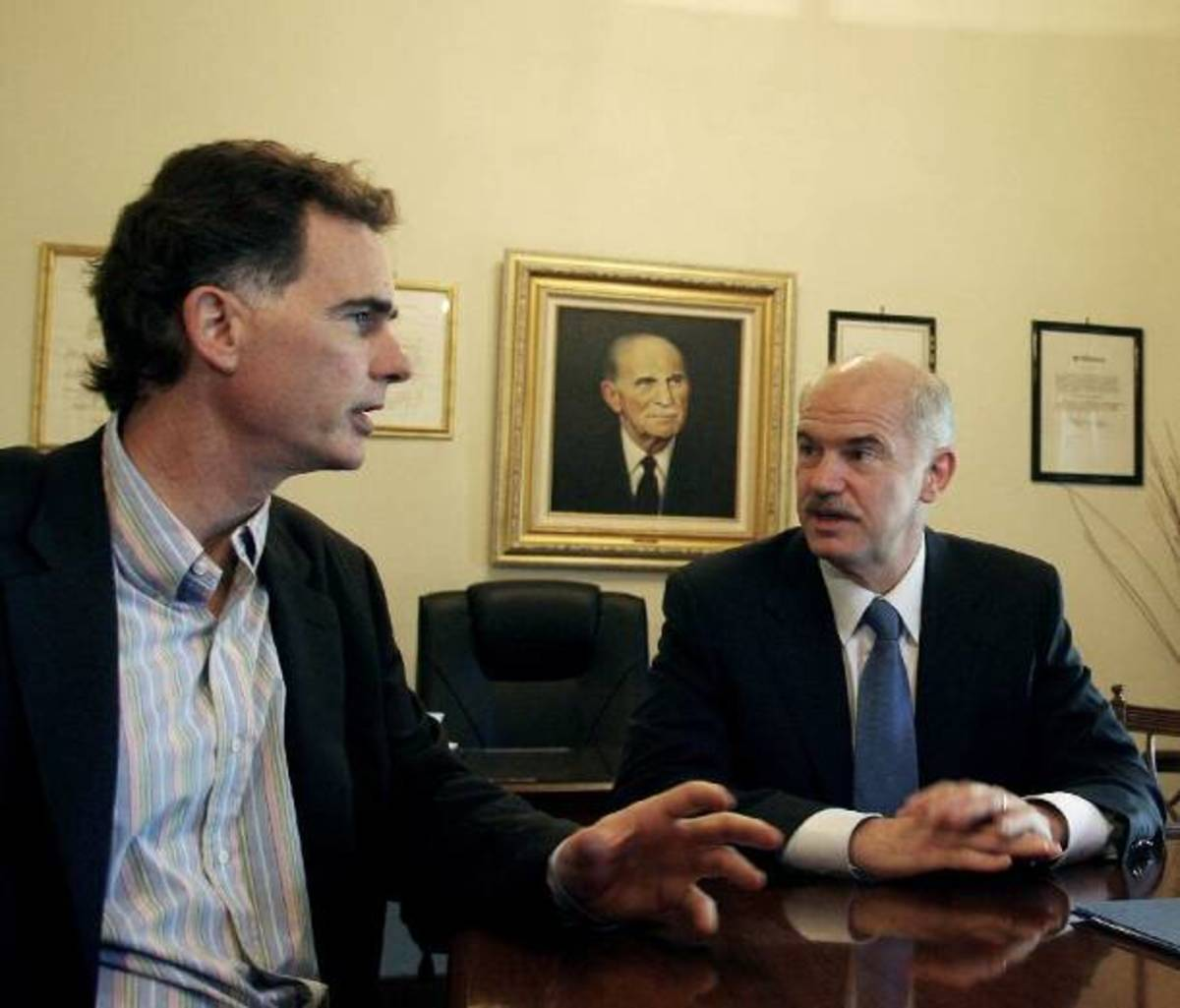 Ο Νίκος Παπανδρέου επικρίνει τον αδερφό του για το ΔΝΤ ! | Newsit.gr