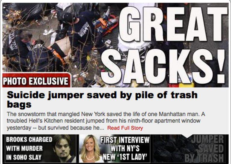 Ομογενής έπεσε από τον 9ο όροφο αλλά τον έσωσαν τα… σκουπίδια | Newsit.gr