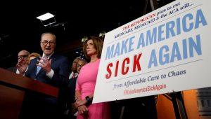Ανησυχία για την κατάργηση του Obamacare – Ποιοι Ρεπουμπλικάνοι διαφοροποιούνται