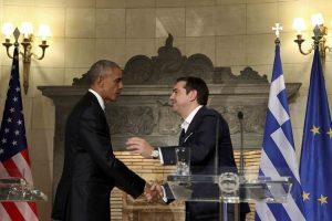 Bloomberg: «Ο Ομπάμα διατηρεί ζωντανή την ελπίδα για την Ελλάδα»