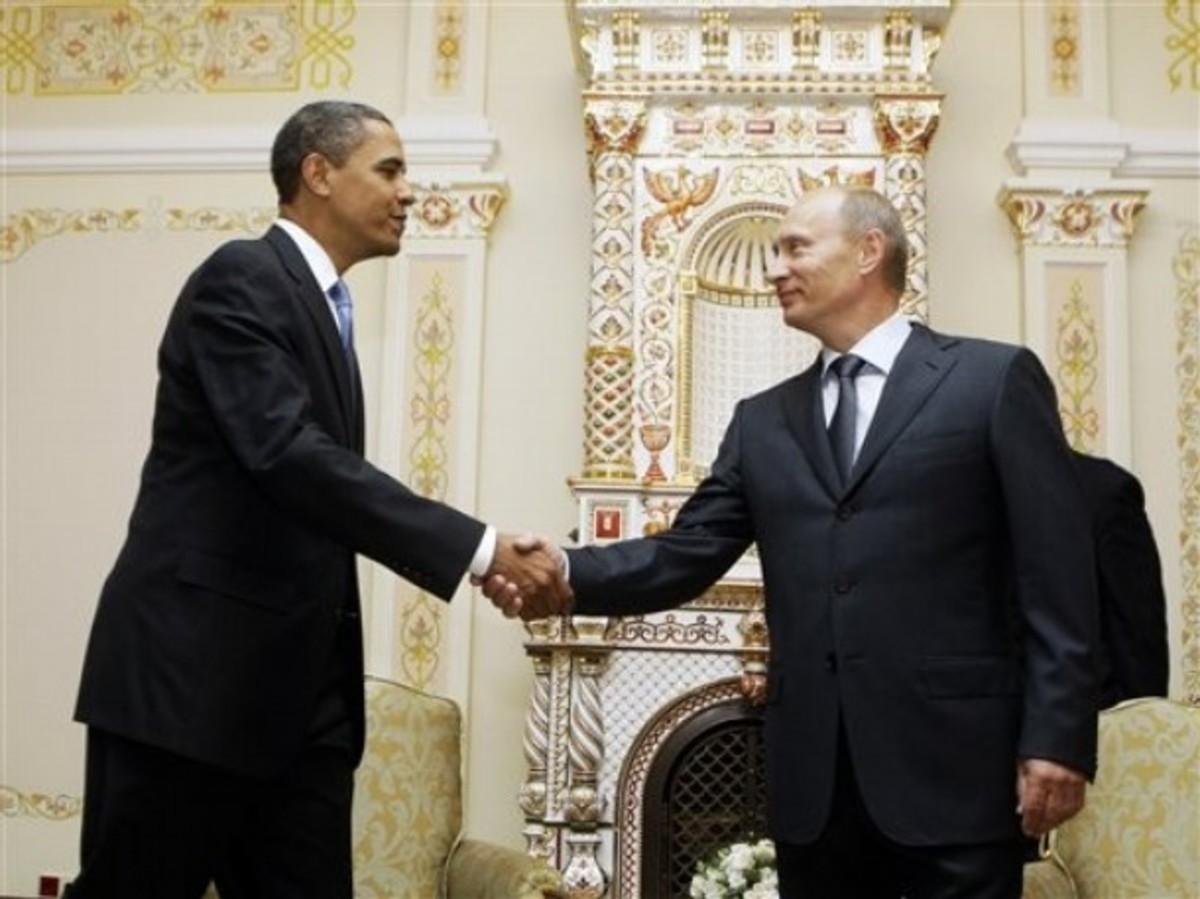 Συνάντηση Ομπάμα- Πούτιν τη Δευτέρα   Newsit.gr