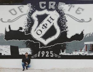 Τεράστιο γκράφιτι για τον ΟΦΗ στο Βαρδινογιάννειο [pics]
