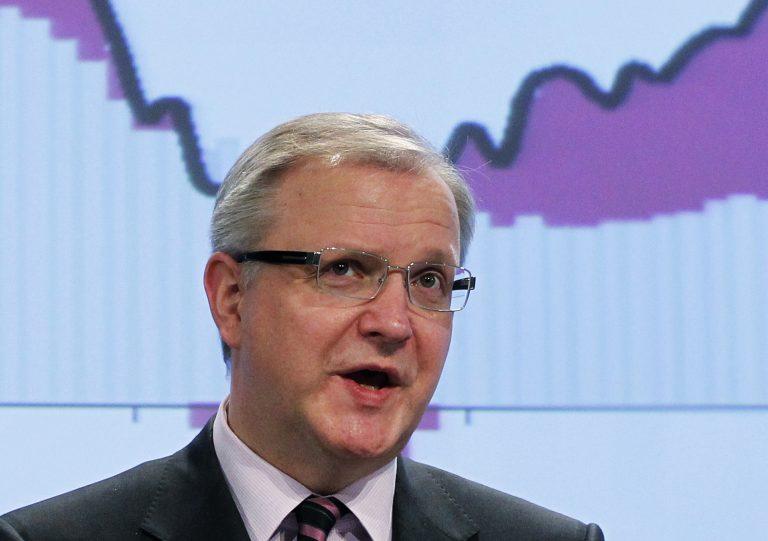 Ολι Ρεν: Η Ελλάδα δεν θα φύγει απο την Ευρωζώνη | Newsit.gr