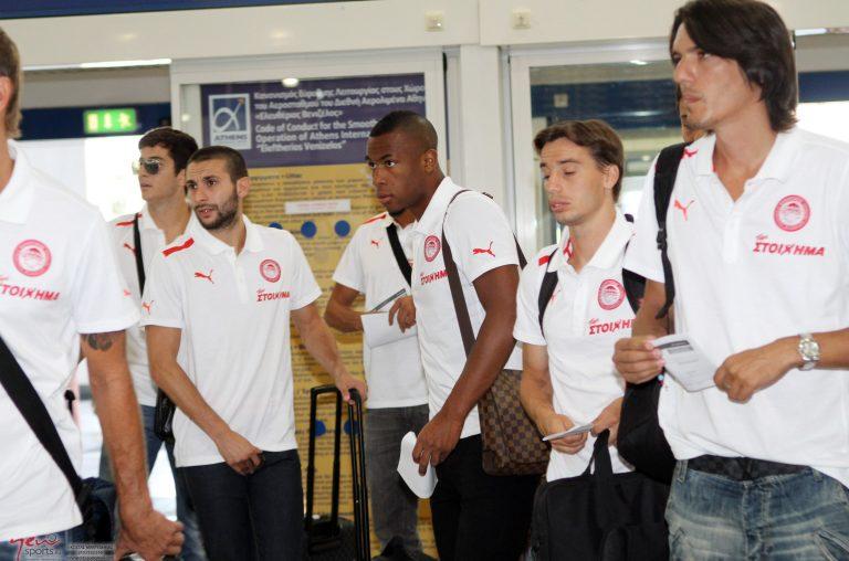 Πέταξε για Έρμελο με όλους τους παίκτες ο Ολυμπιακός   Newsit.gr