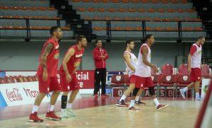Μπασκόνια – Ολυμπιακός: Μεσημεριανή προπόνηση πριν το ματς