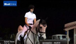 Αθηνά Ωνάση: Έπεσε από το άλογο σε αγώνες ιππασίας