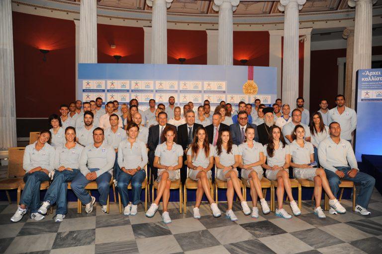 Το ταξίδι στο… όνειρο για την Ελληνική Ολυμπιακή Ομάδα ξεκινά | Newsit.gr