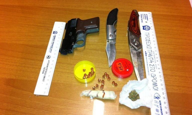 Αχαΐα: Ο έλεγχος αποκάλυψε ηρωίνη και μαχαίρια | Newsit.gr
