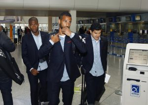 Μπεσίκτας – Ολυμπιακός: «Πέταξε» για την πρόκριση η «ερυθρόλευκη» αποστολή [pics]