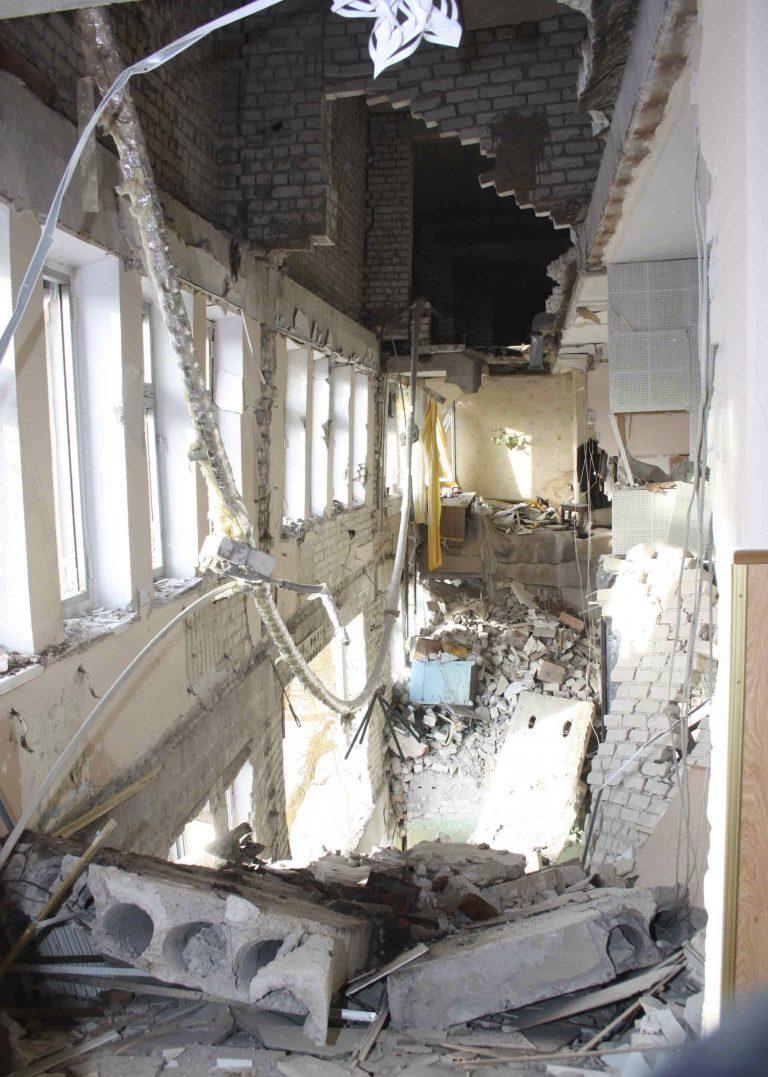 Έκρηξη σε νοσοκομείο στην Ουκρανία | Newsit.gr