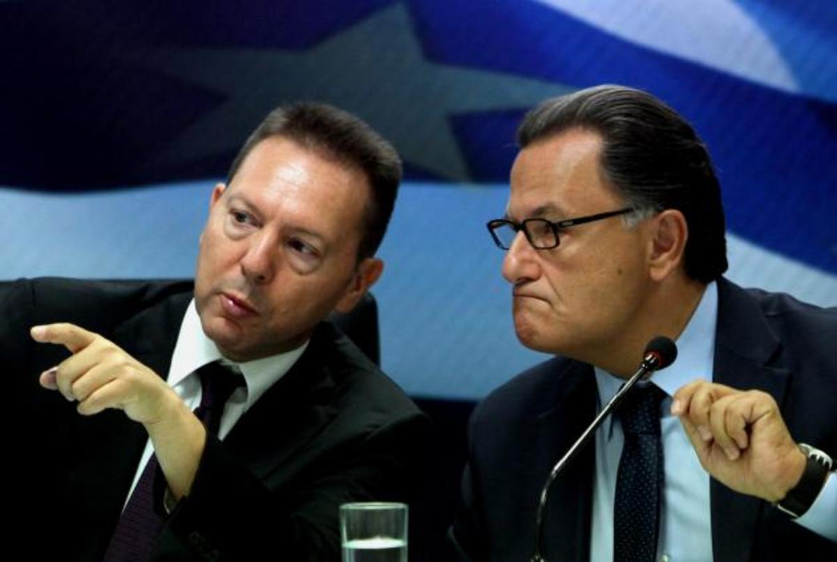 Στην ΛΑΕΔ Στουρνάρας-Σταϊκούρας μαζί με Παναγιωτόπουλο-Κωσταράκο – Τι είπαν | Newsit.gr