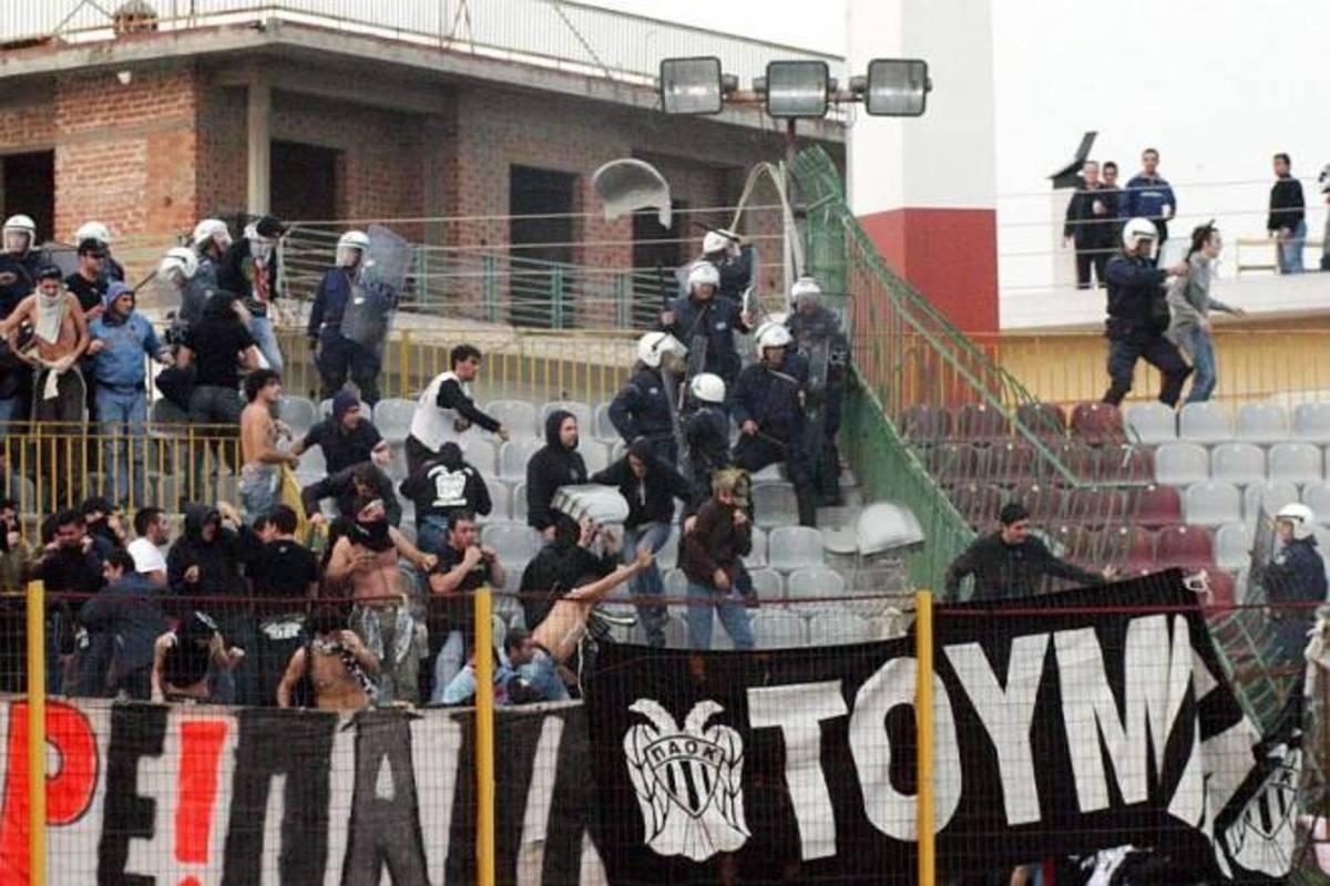 Ένταση μεταξύ οπαδών πριν το Καλλιθέα – ΠΑΟΚ   Newsit.gr