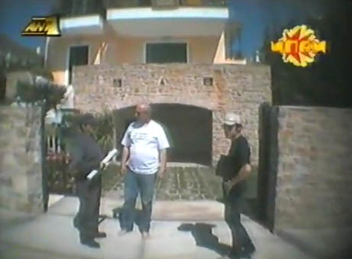 Ο Γ.Παπαδάκης έκανε… μπαμ όταν βρέθηκε πετρέλαιο στο σπίτι του-Video | Newsit.gr
