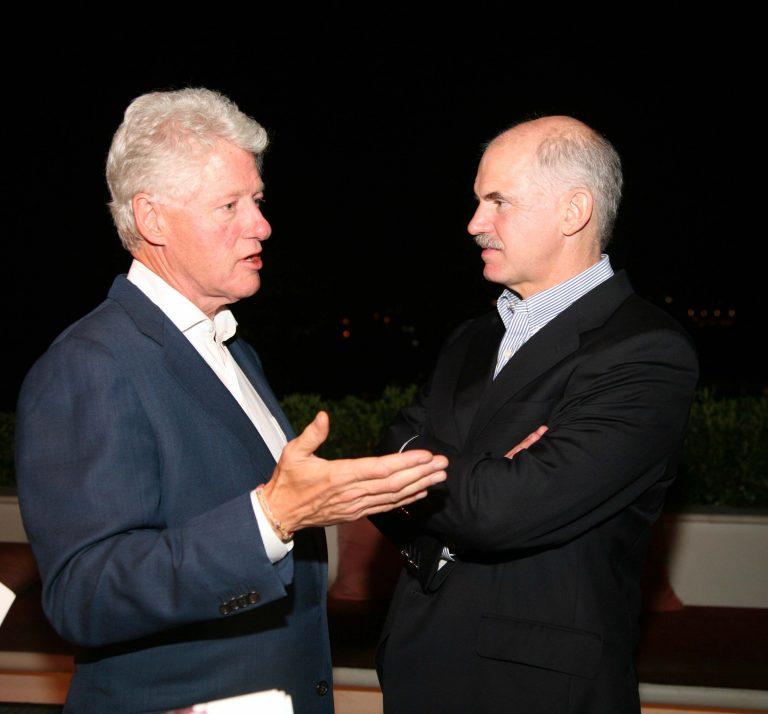 Συνάντηση Γ.Παπανδρέου με Μ.Κλίντον   Newsit.gr