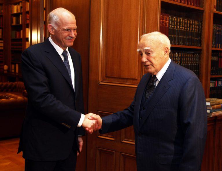 Τι συζήτησαν Γ. Παπανδρέου και Κ. Παπούλιας στη σημερινή συνάντηση | Newsit.gr