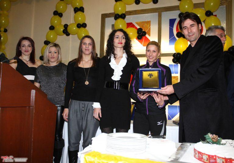 Η ΑΕΚ τίμησε την Βούλα Παπαχρήστου | Newsit.gr