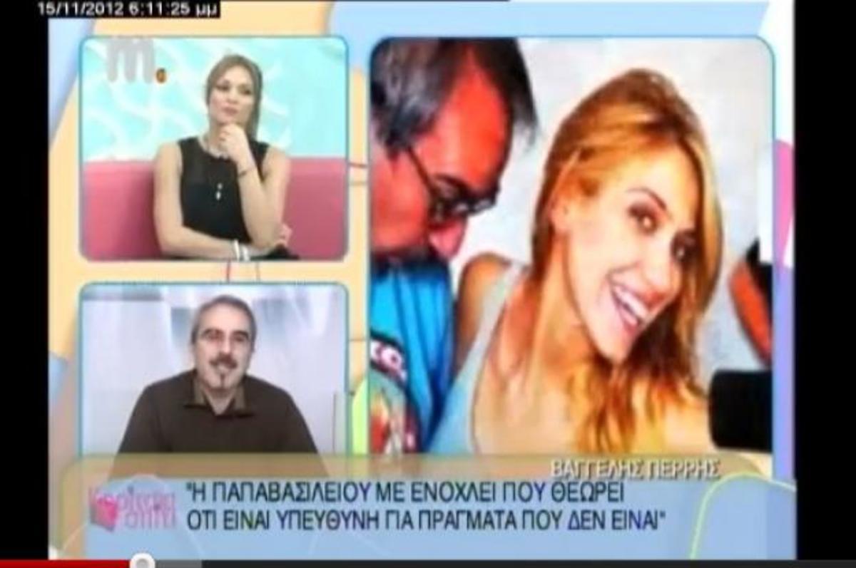 Ο Βαγγέλης Περρής εξηγεί γιατί δεν πήρε την Έλενα Παπαβασιλείου στο «ΟΛΑ» και μιλάει για τα «τηλεφωνήματα-μαϊμού» των μεσημεριανών εκπομπών | Newsit.gr