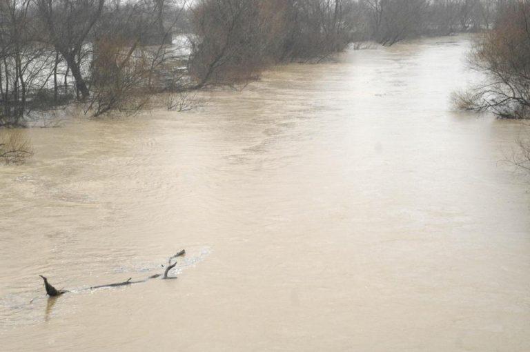 Τρίκαλα: Καταστράφηκαν χιλιάδες στρέμματα από την πλημμύρα του Πηνειού – Διακοπή κυκλοφορίας | Newsit.gr