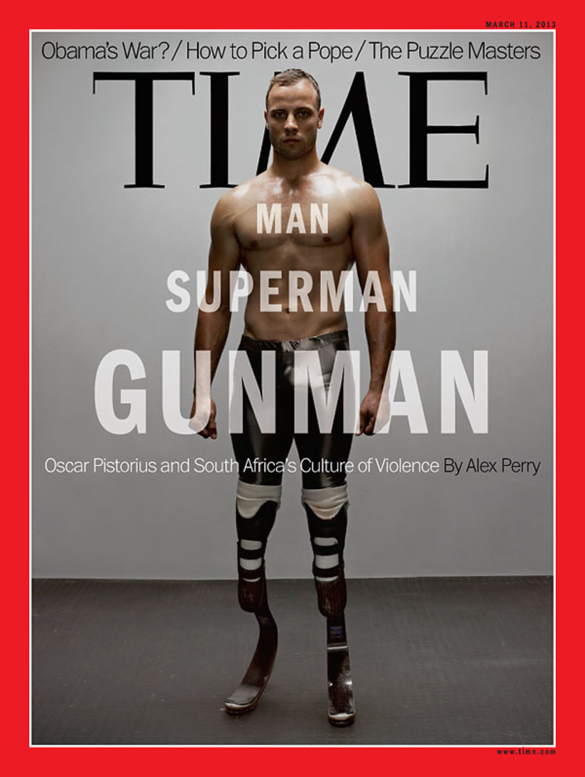 O Πιστόριους έγινε εξώφυλλο στο TIME | Newsit.gr