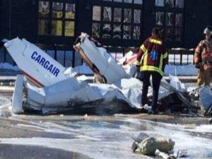 Συγκρούστηκαν δύο αεροπλάνα στον Καναδά! Παραλίγο πολύνεκρη τραγωδία! [vid, pic]