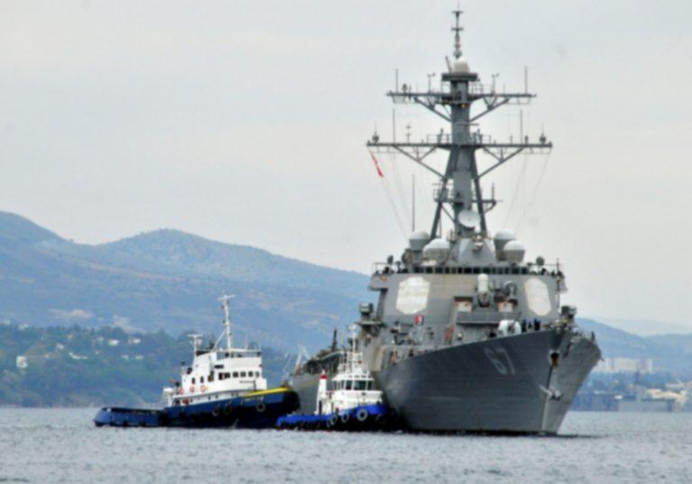 Στη Σούδα το πολεμικό πλοίο που είχε πλήξει η Αλ Κάϊντα | Newsit.gr