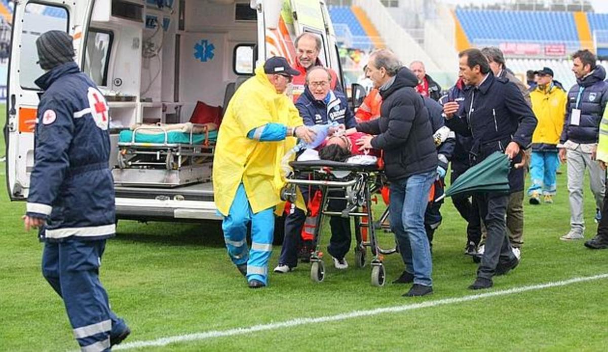 Τραγωδία στην Ιταλία – Νεκρός ο ποδοσφαιριστής της Λιβόρνο (VIDEO) | Newsit.gr