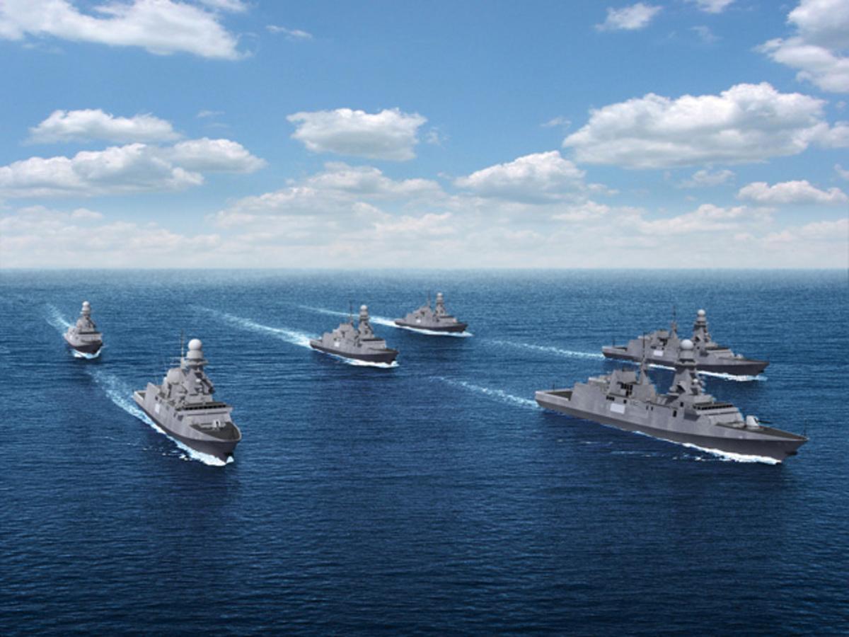 Γερμανικά πολεμικά πλοία συγκρούονται.Δείτε το βίντεο | Newsit.gr