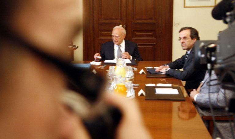 Ολα όσα δεν έδειξαν οι κάμερες στη συνάντηση των πολιτικών αρχηγών   Newsit.gr