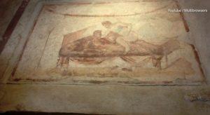 Καυτές ερωτικές τοιχογραφίες στην Πομπηία! Οι υπηρεσίες σε αρχαίο οίκο ανοχής! [vid]