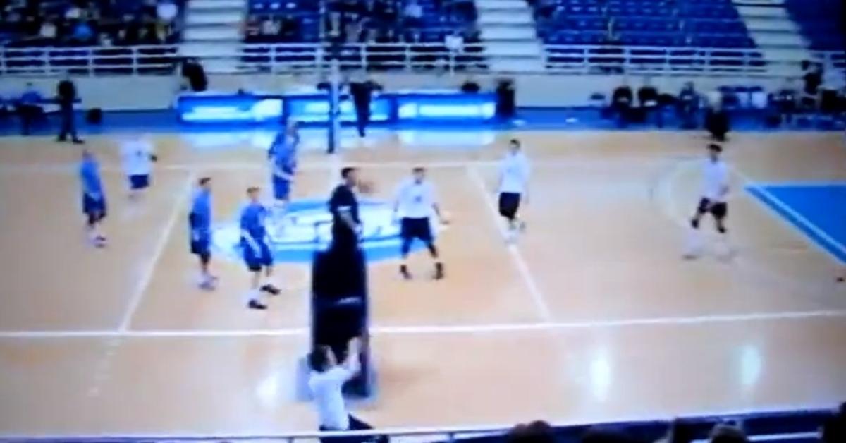 """""""Τρελός"""" πόντος σε αγώνα βόλεϊ (VIDEO)   Newsit.gr"""
