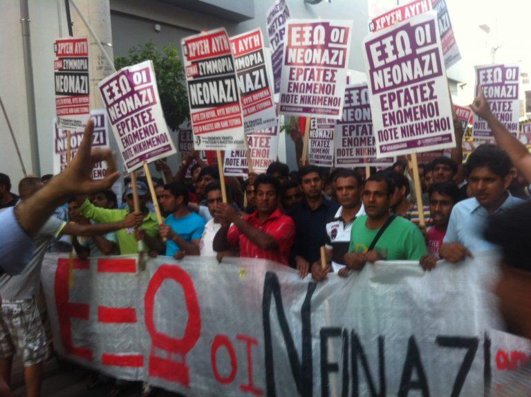 Aντιρατσιστική πορεία στη Νίκαια – Παραλήρημα της Χρυσής Αυγής | Newsit.gr