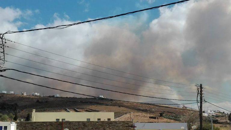 Φωτιά στην Άνδρο: Ενισχύσεις από την Αθήνα – Μάχη για να σωθούν σπίτια – Δύσκολη νύχτα στο νησί | Newsit.gr