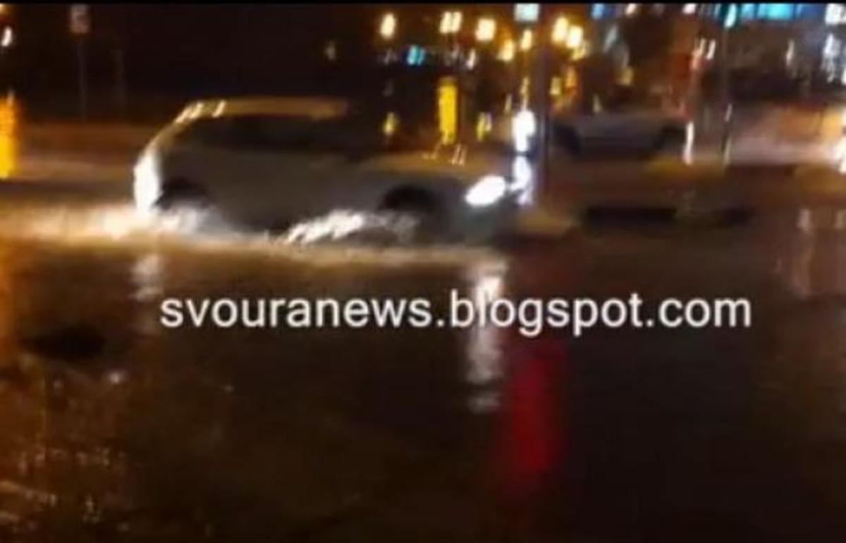 Δρόμοι… ποτάμια στην Καστοριά – ΒΙΝΤΕΟ | Newsit.gr