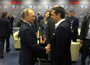 Ο Πούτιν ζήτησε τηλεφωνική επικοινωνία από τον Τσίπρα