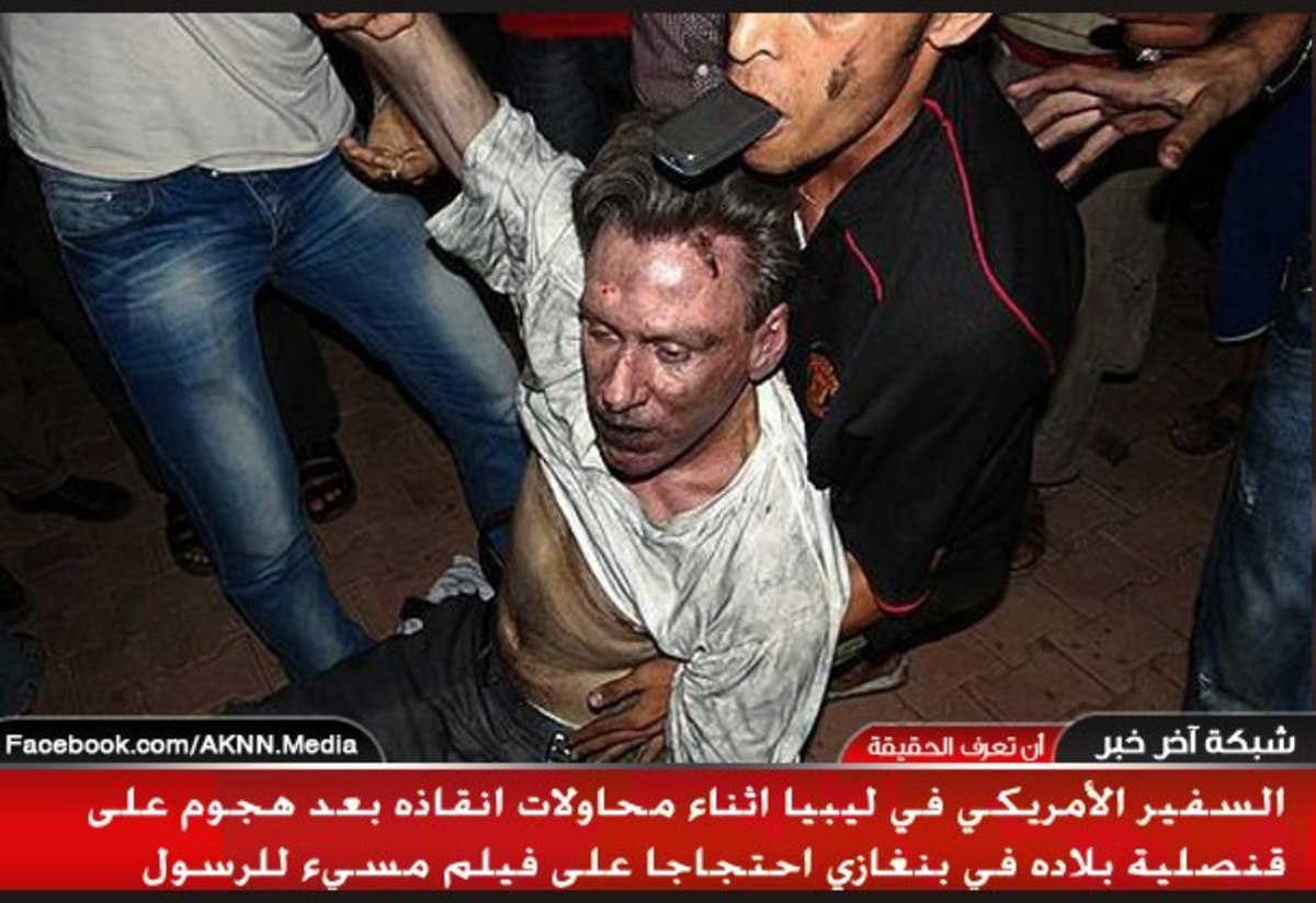 Οι τελευταίες στιγμές του αμερικανού πρέσβη! – Εικόνες που σοκάρουν | Newsit.gr