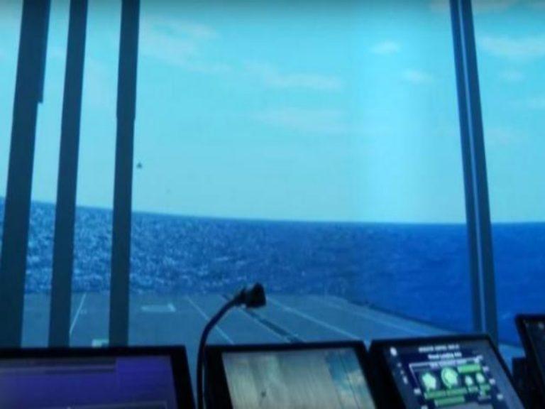 F- 35: Έτσι θα γίνεται η προσνήωση στα νέα αεροπλανοφόρα! [vid] | Newsit.gr