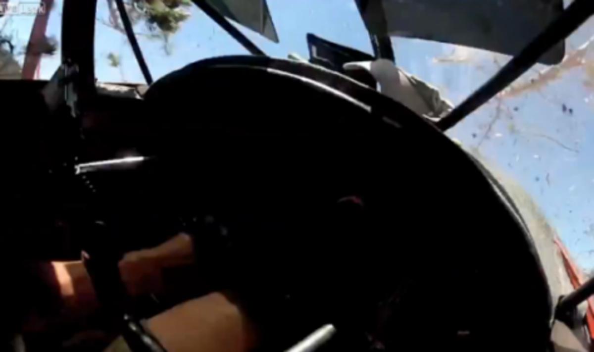 Απίστευτο βίντεο! Τράβηξε τη πτώση του αεροσκάφους του, μέσα από το πιλοτήριο! | Newsit.gr