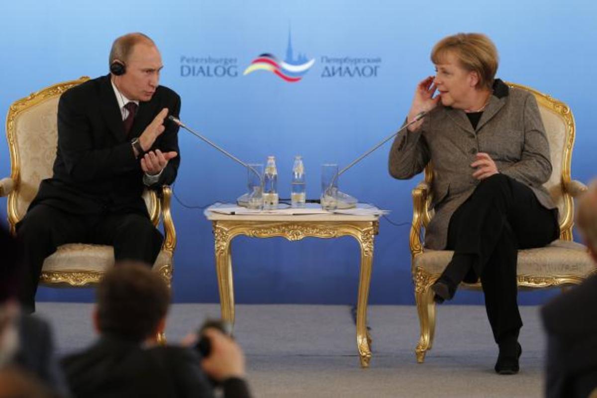 Πούτιν προς Μέρκελ: «η ευρωζώνη θα τα καταφέρει»   Newsit.gr