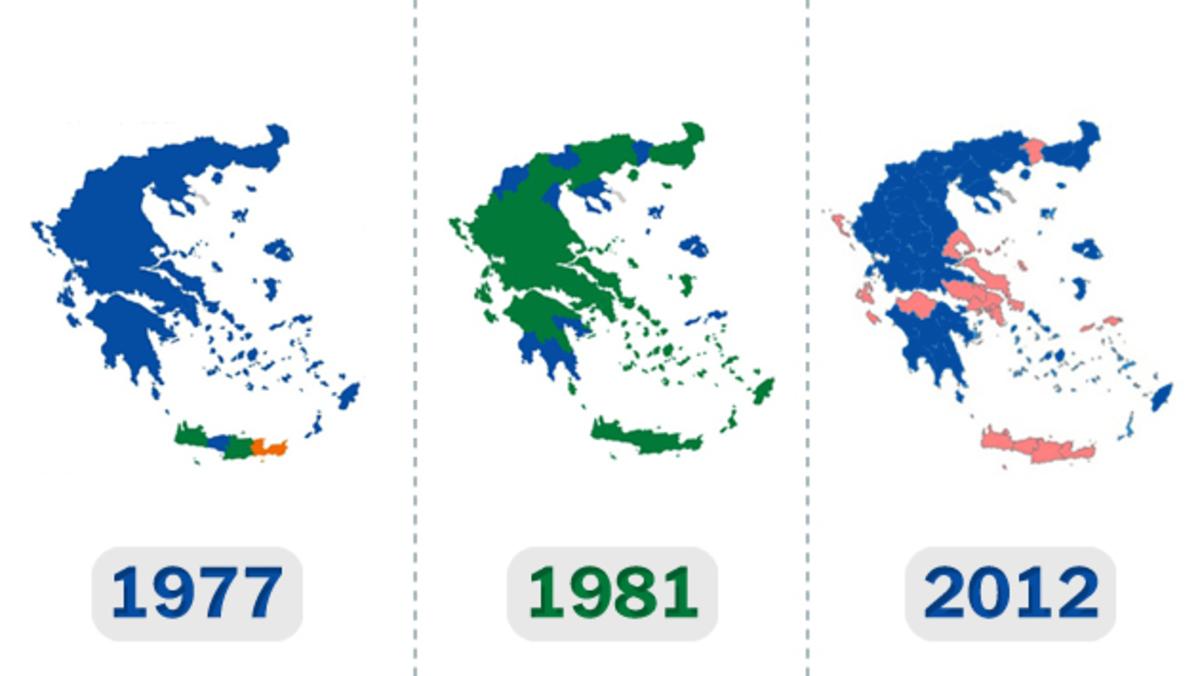 ΠΑΣΟΚ:Για πρώτη φορά από το 1977 δεν κερδίζει κανένα νομό! | Newsit.gr