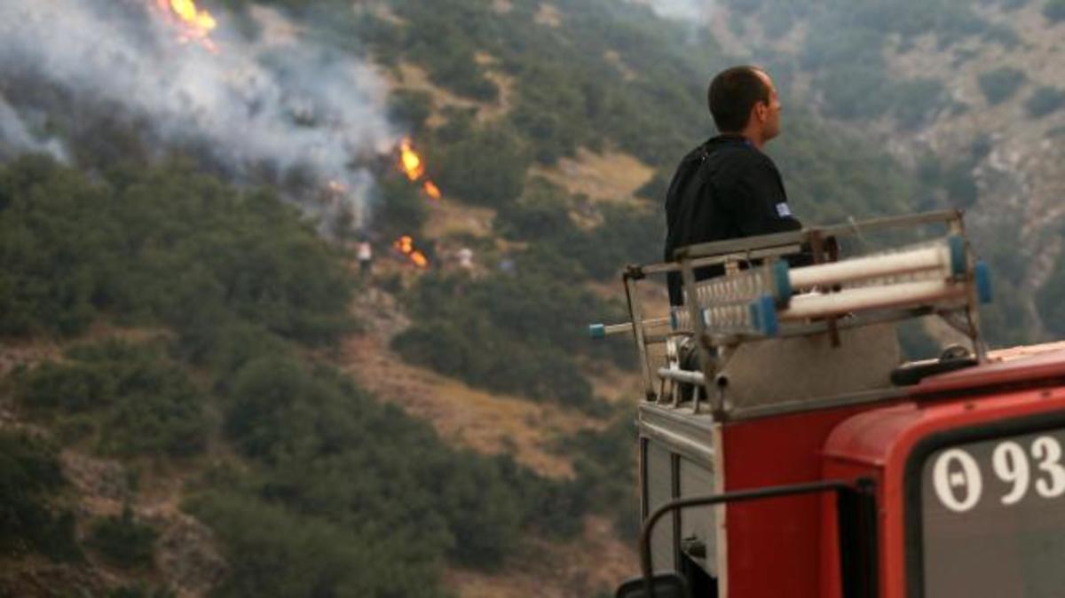 Πυρκαγιά στο Γέρακα | Newsit.gr